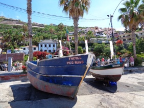 Fishing boats at Câmara de Lobos