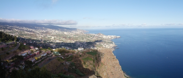 Panorama view From Cabo Girão