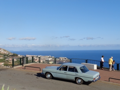 Mercedes 280S at Pico da Torre